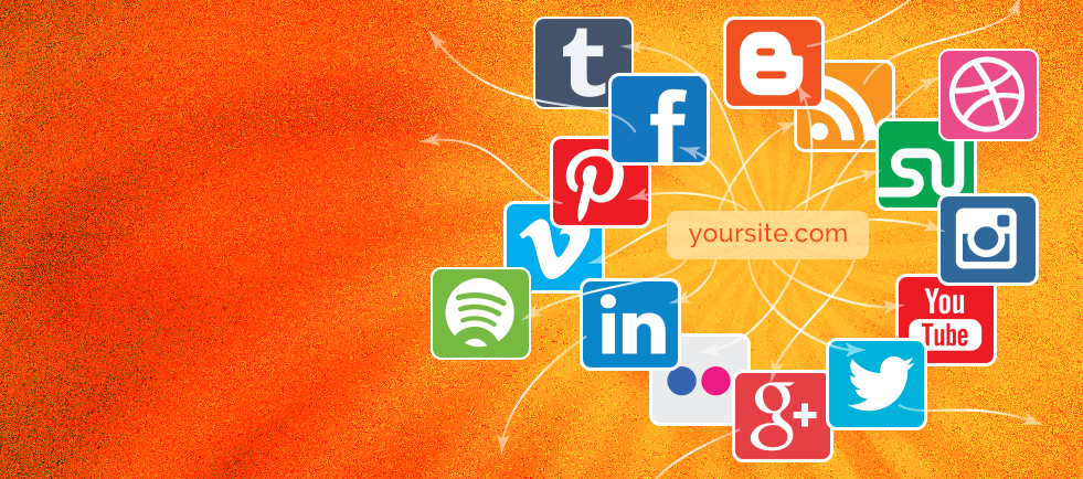 Integration of you Social Media Sites