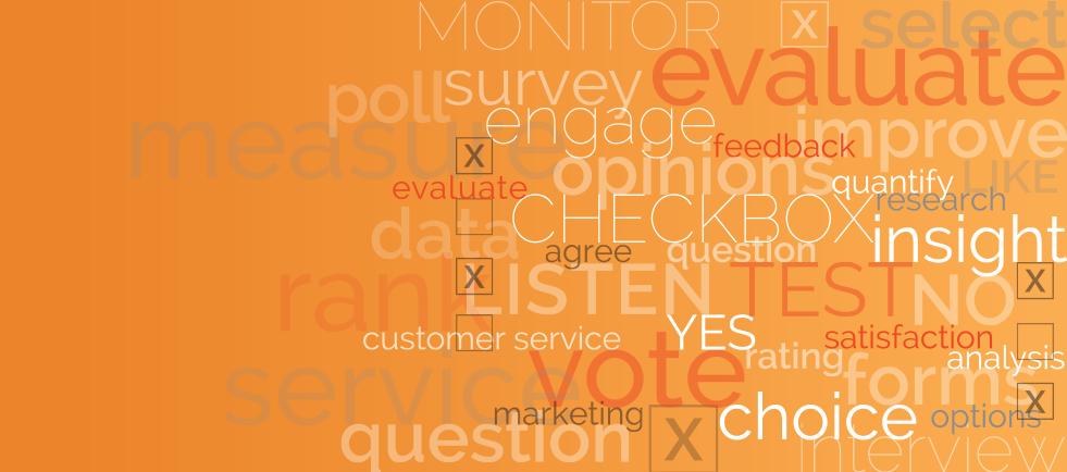 Conduct Surveys